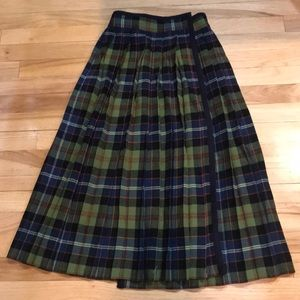 Byes Saint Laurent pleated skirt
